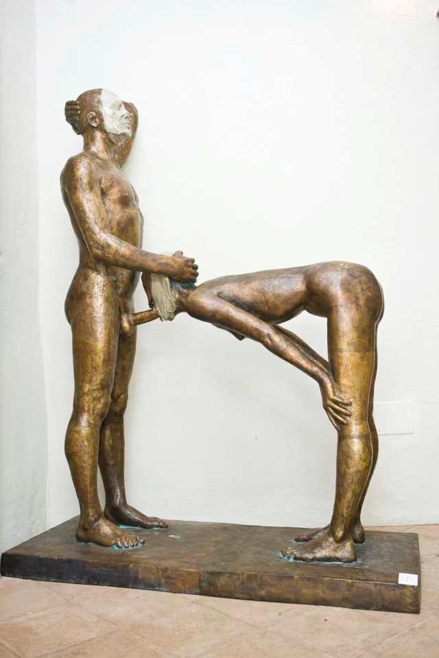 Mikhail Dolgopolov - Atto divino www. artribune.com