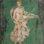 Dipinto romano del I secolo ritrovato presso la villa Adriana di Tivoli e conservato al Museo archeologico di Napoli