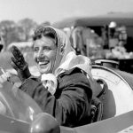 1958 - Maria Teresa de Filippis è stata una pilota automobilistica italiana. È stata la prima donna a correre in Formula Uno