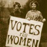 1906 - Suffraggette britanniche che protestano per il diritto di voto alle donne, Londra
