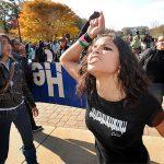 2009 - Una protesta per la giustizia guidata dagli studenti in Palestina all'Università del Maryland, College Park